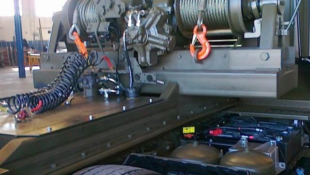 wyciągarka hydrauliczna profesjonalna