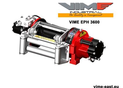 Winch EPH 3600 winch for road assistance AA car planetary winch EN- 14492 Comeup, Dragon Winch Superwinch Warn Ramsey