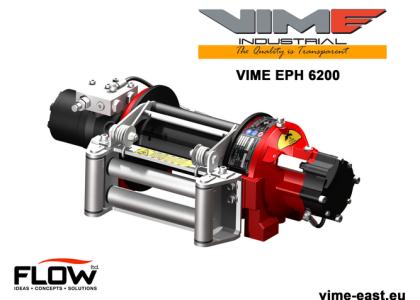 najlepsze wyciągarki VIME EPH 6,2 t uciągu modele FN zgodne z normą EN 14492-1 Superwinch, wyciągarka Dragon